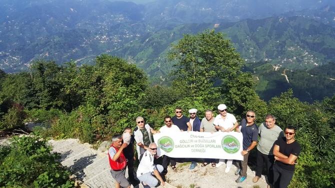 CİSAD üyeleri Kaçkar dağına tırmandıl galerisi resim 3