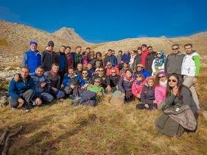 CİSAD dağcıları 3764 metre Karadağa zirve yaptı