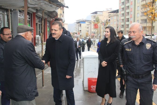 Vali Akbıyık'tan esnaf ziyareti galerisi resim 9