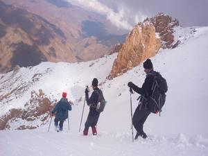 Kürek dağına tırmanış