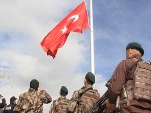 Hakkari bayrak töreni