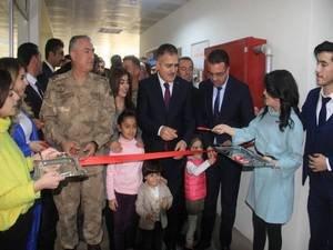 Şehit Adıyaman'nın kütüphane açıldı