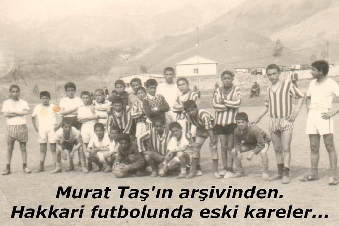 Hakkari futbolunda eski kareler galerisi resim 1