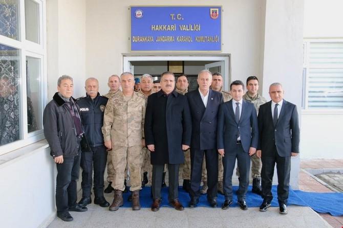 Vali Akbıyık, Durankaya'yı ziyaret etti galerisi resim 4