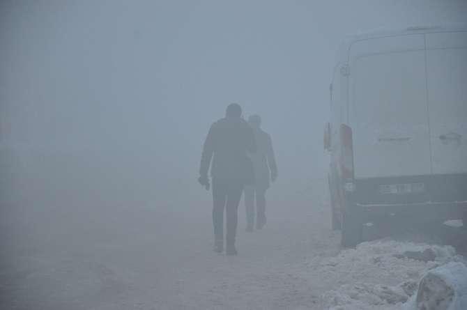 Yüksekova'da kar manzaraları galerisi resim 17