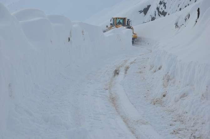 Yüksekova'da kar manzaraları galerisi resim 18