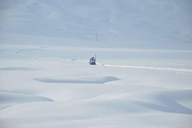 Yüksekova'da kar manzaraları galerisi resim 22