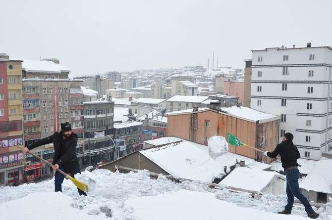 Yüksekova'da kar manzaraları galerisi resim 24