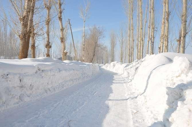 Yüksekova'da kar manzaraları galerisi resim 6