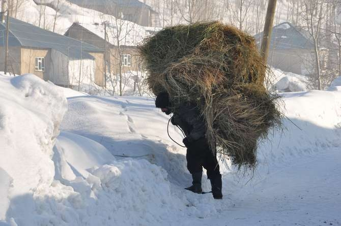Yüksekova'da kar manzaraları galerisi resim 9