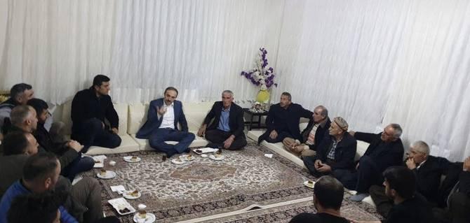 Başkan Epcim, 7 ayrı aileye konuk oldu galerisi resim 13