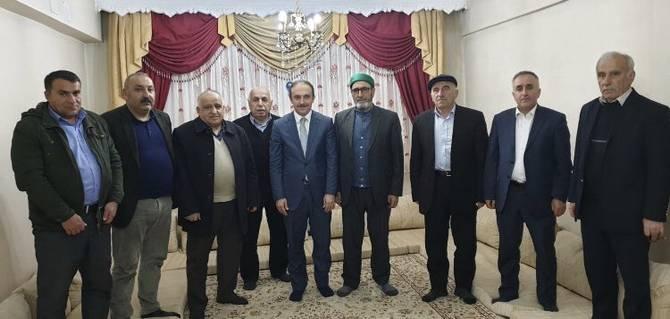 Başkan Epcim, 7 ayrı aileye konuk oldu galerisi resim 3