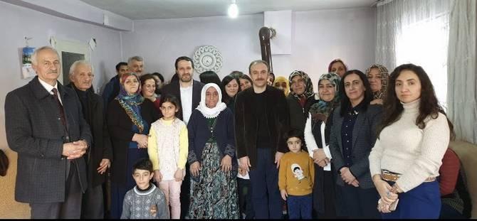 Başkan Epcim, 7 ayrı aileye konuk oldu galerisi resim 8
