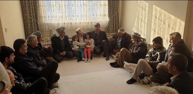 Başkan Epcim, 13 aileye misafir oldu galerisi resim 24