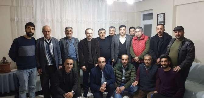 Başkan Epcim, 13 aileye misafir oldu galerisi resim 33