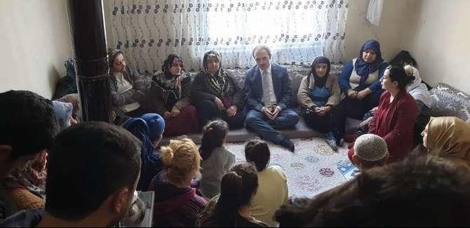 Başkan Epcim, 13 aileye misafir oldu galerisi resim 8