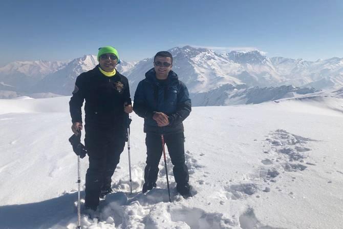 Mehed dağına kış tırmanışı yapıldı galerisi resim 12