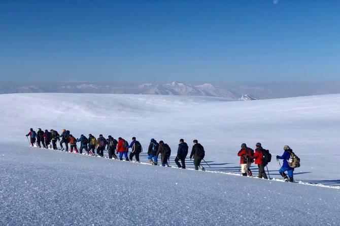 Mehed dağına kış tırmanışı yapıldı galerisi resim 4