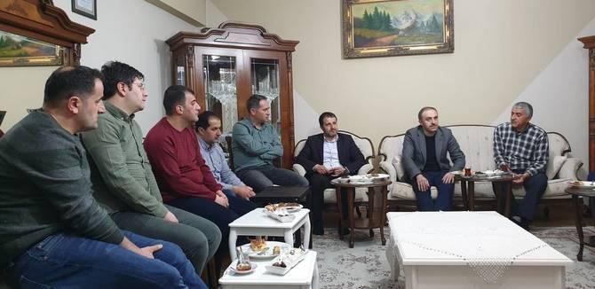 Başkan Epcim, 13 aileye misafir oldu galerisi resim 1