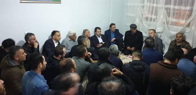 Başkan Epcim, 13 aileye misafir oldu galerisi resim 14