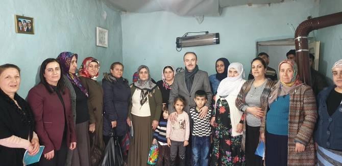 Başkan Epcim, 13 aileye misafir oldu galerisi resim 20