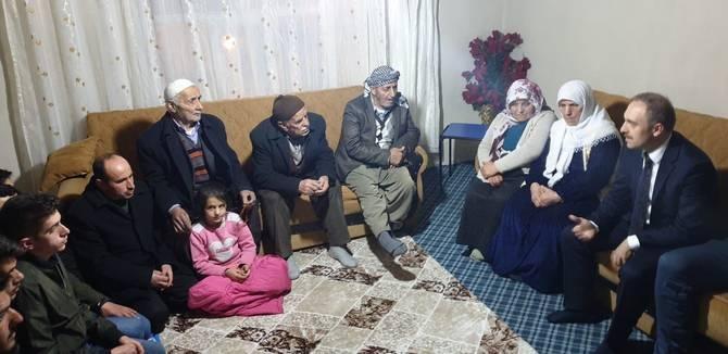 Başkan Epcim, 13 aileye misafir oldu galerisi resim 3
