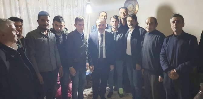 Başkan Epcim, 13 aileye misafir oldu galerisi resim 4