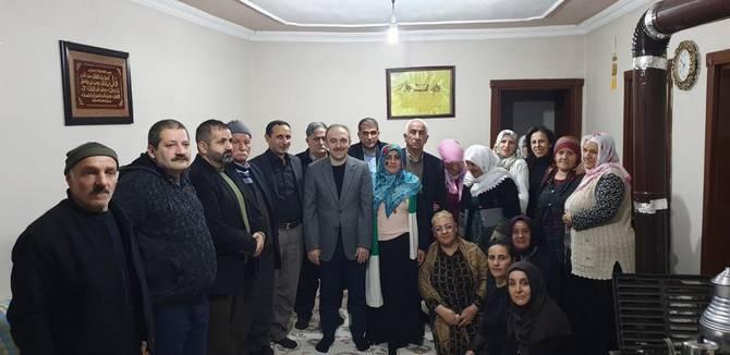 Başkan Epcim, 13 aileye misafir oldu galerisi resim 5