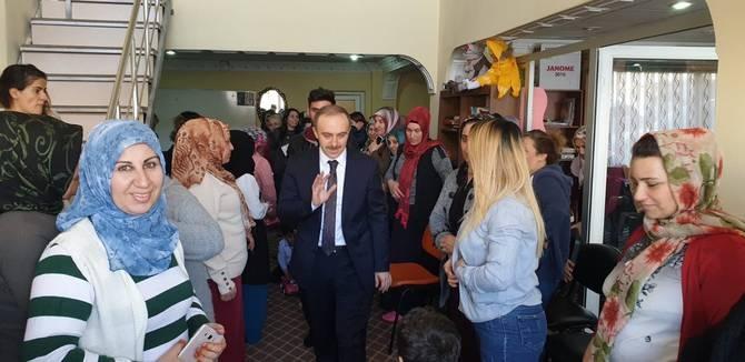 Başkan Epcim, 13 aileye misafir oldu galerisi resim 7