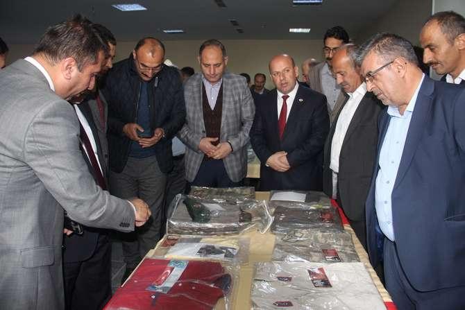 Şehit Teğmen Özatak sergisi açıldı galerisi resim 26