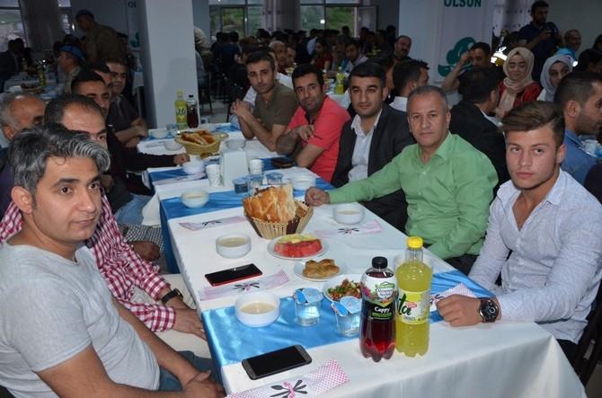 Vali Akbıyık sağlık çalışanları ile iftar açtı galerisi resim 3