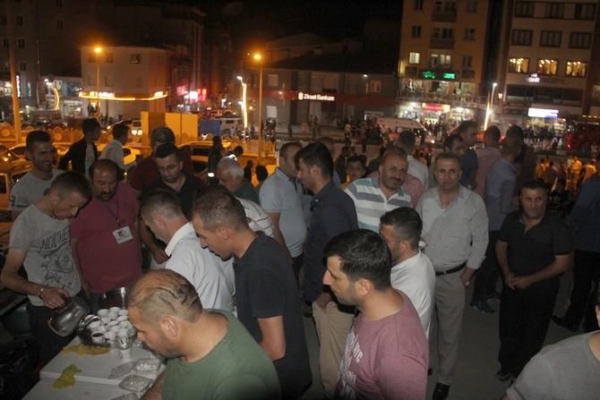 Hakkari'de Milli Birlik ve Demokrasi yürüyüşü galerisi resim 25