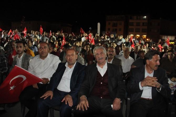 Hakkari'de Milli Birlik ve Demokrasi yürüyüşü galerisi resim 32
