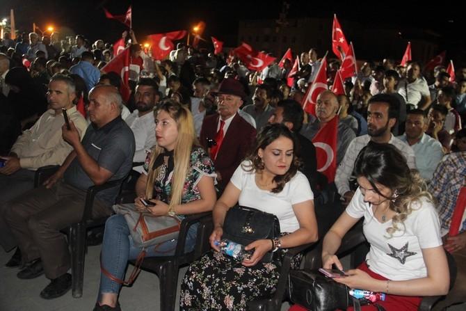 Hakkari'de Milli Birlik ve Demokrasi yürüyüşü galerisi resim 33