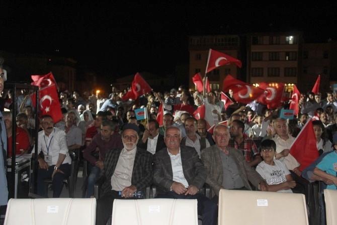 Hakkari'de Milli Birlik ve Demokrasi yürüyüşü galerisi resim 35