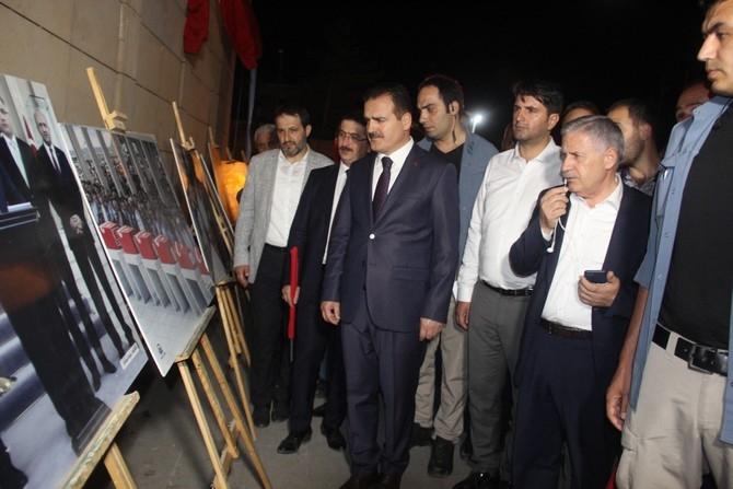Hakkari'de Milli Birlik ve Demokrasi yürüyüşü galerisi resim 36