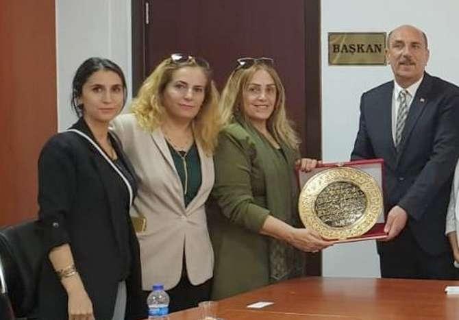 Kadın girişimcilerden Vali Akbıyık'a ziyaret galerisi resim 6