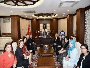 Kadın girişimcilerden Vali Akbıyık'a ziyaret