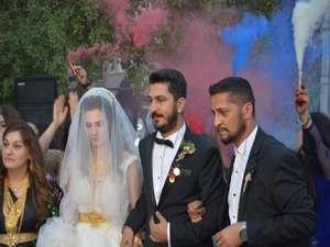 Başaran ve Özbek ailesinin mutlu günü