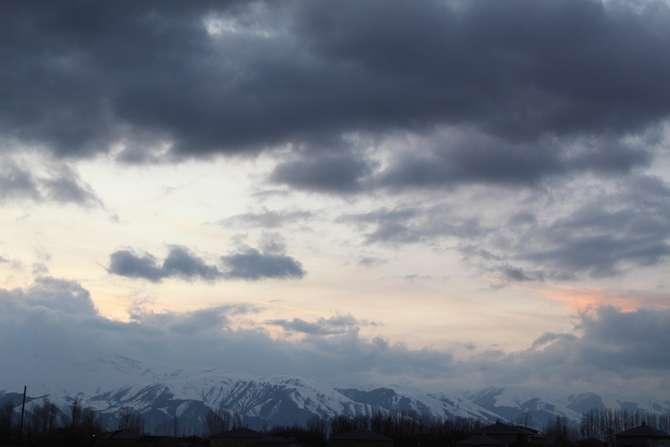 Karlı dağlarla bulutların görsel şöleni galerisi resim 10