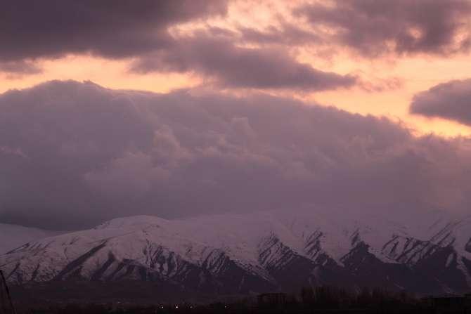 Karlı dağlarla bulutların görsel şöleni galerisi resim 7