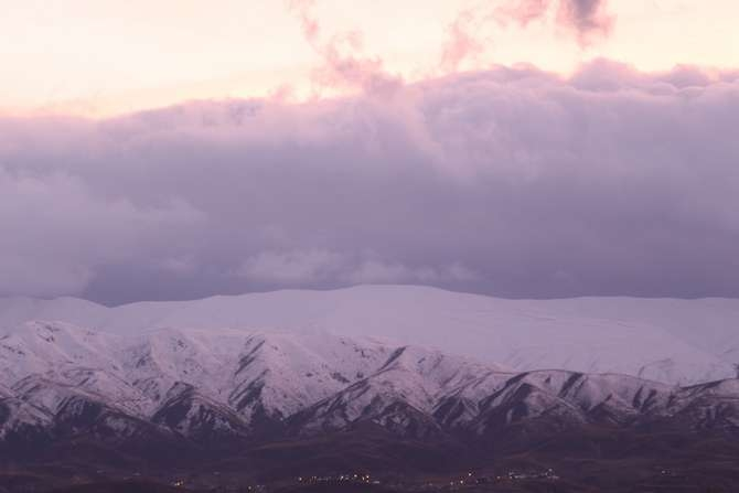 Karlı dağlarla bulutların görsel şöleni galerisi resim 9