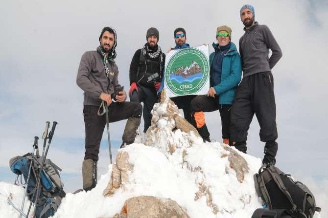 Cisad üyeleri Cisad dağına tırmandı galerisi resim 1