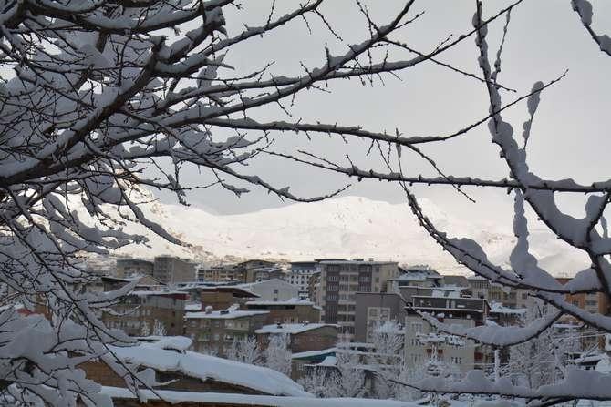 2020 Hakkari kar manzaraları galerisi resim 1