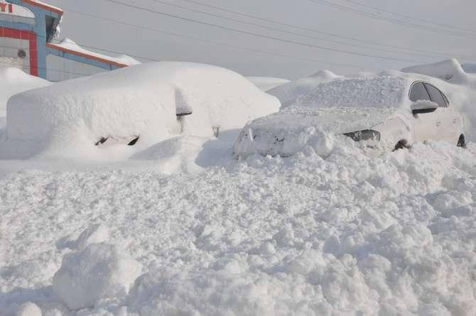 Yüksekova 2020 kar manzaraları galerisi resim 1