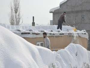 Yüksekova 2020 kar manzaraları