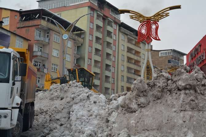 Kar dağları 2020 Hakkari kent merkezi galerisi resim 13