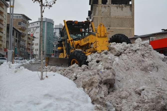 Kar dağları 2020 Hakkari kent merkezi galerisi resim 14