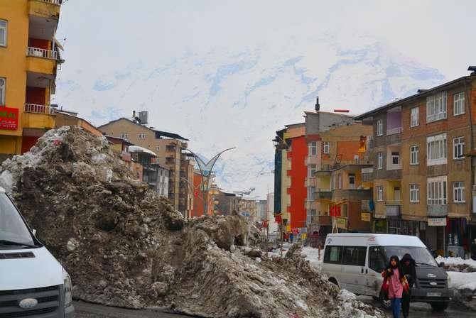 Kar dağları 2020 Hakkari kent merkezi galerisi resim 9