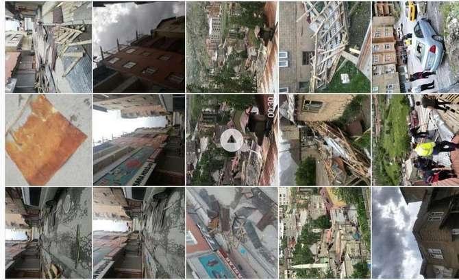 Hakkari'de fırtına dehşeti yaşandı galerisi resim 6